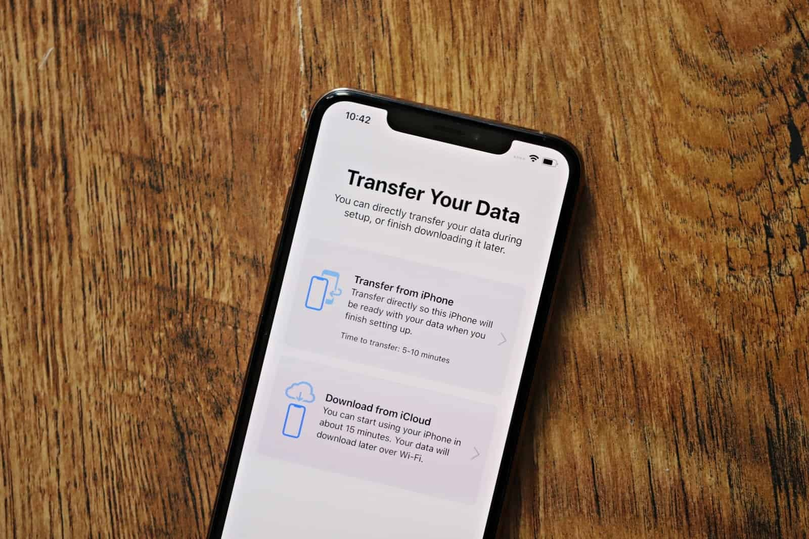 iPhone Transfer Your Data from iPhone directly wireless