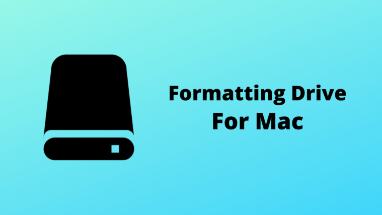 Format Drive for Mac