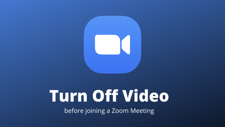 Zoom Meeting Without Video