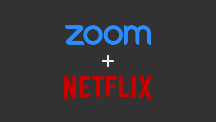 Zoom Netflix Together