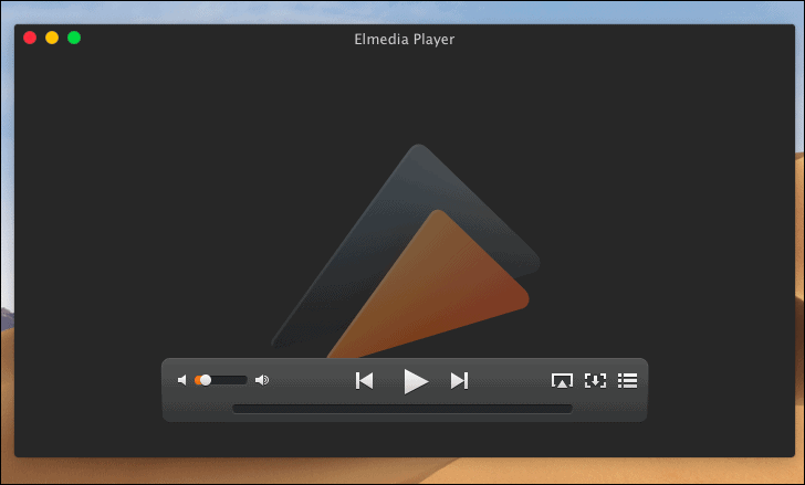 Play and view SFW files by dropping them onto Elmedia player