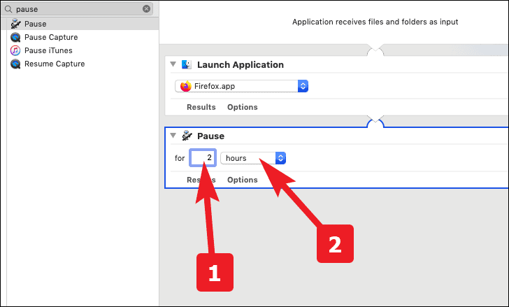 set specific time to run the application